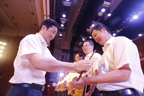 玉柴集团庆祝中国共产党建党97周年