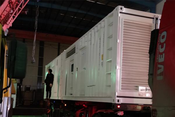国外拉斯邦巴斯铜矿项目1200KW奔驰发电机组项目