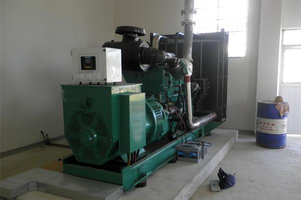 四川城建职业学院300KW康明斯发电机组项目