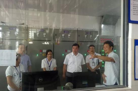 玉柴集团安全生产检查组莅临中晟公司指导交流工作