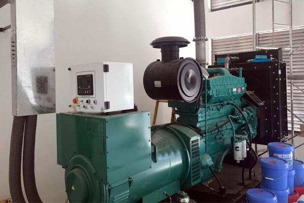 杭州艾康生物技术公司300KW康明斯发电机组项目