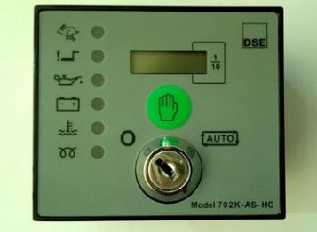 英国深海DSE702柴油发电机组手动控制器