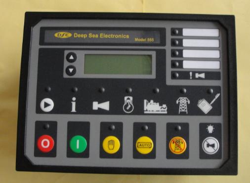 英国深海DSE550柴油发电机组手动控制器