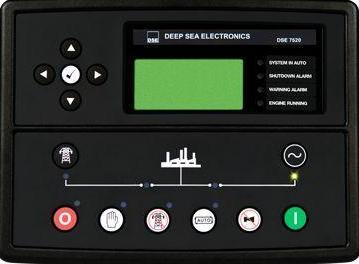 英国深海DSE7520柴油发电机组并网控制器