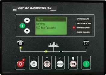 英国深海DSE5560柴油发电机组并网控制器