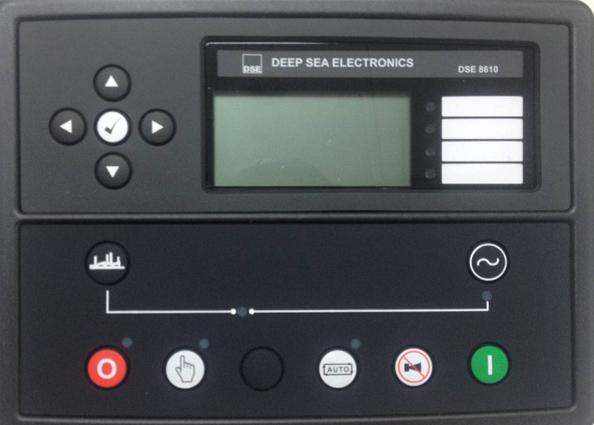 英国深海DSE8610柴油发电机组并机控制器