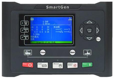 众智GM9520柴油发电机组并网控制器