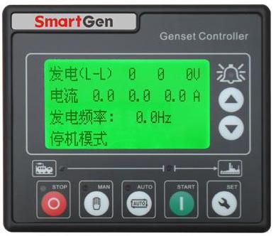 众智HGM410DC单台发电机组自动化控制器