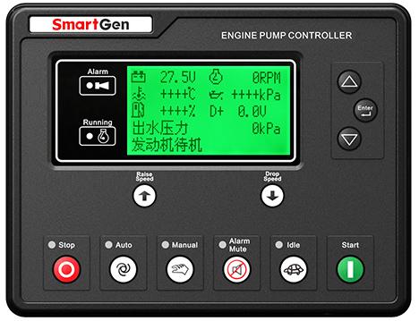 众智APC615柴油水泵机组控制器