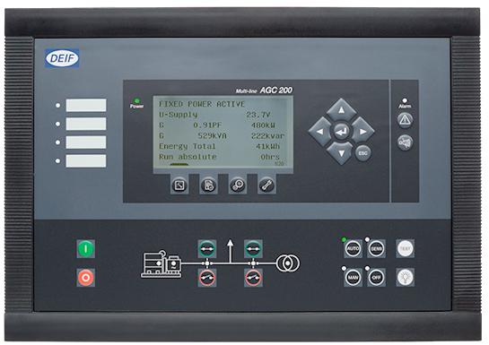 DEIF丹控AGC200柴油发电机组同步控制器