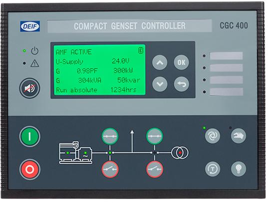 丹控CGC400紧凑型柴油发电机组控制器