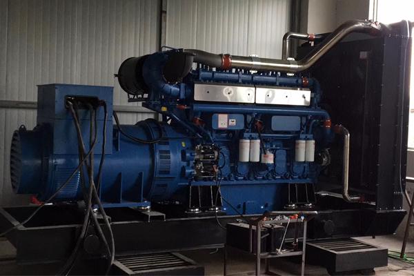 黑龙江联合石油1000KW玉柴柴油发电机组项目