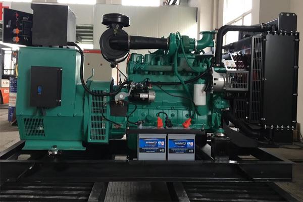 甘肃引洮进水口工程100KW康明斯发电机组项目