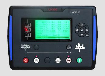 LXC6110柴油发电机组自动化控制器