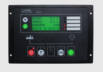 LXC610柴油发电机组可编程控制器