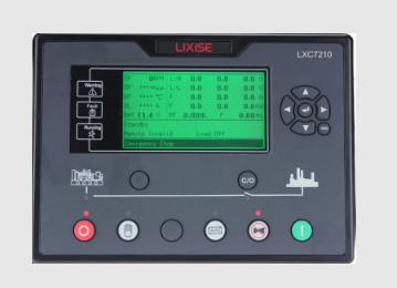 LXC7210柴油发电机组自动化控制器