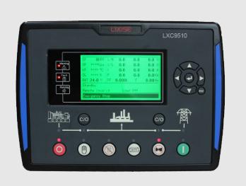 LXC9510柴油发电机组并联控制器