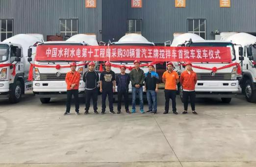 玉柴动力:国五精品机助力中国水电十局重大基础工程建设