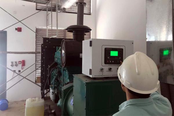 广东华润涂料300KW康明斯柴油发电机组项目