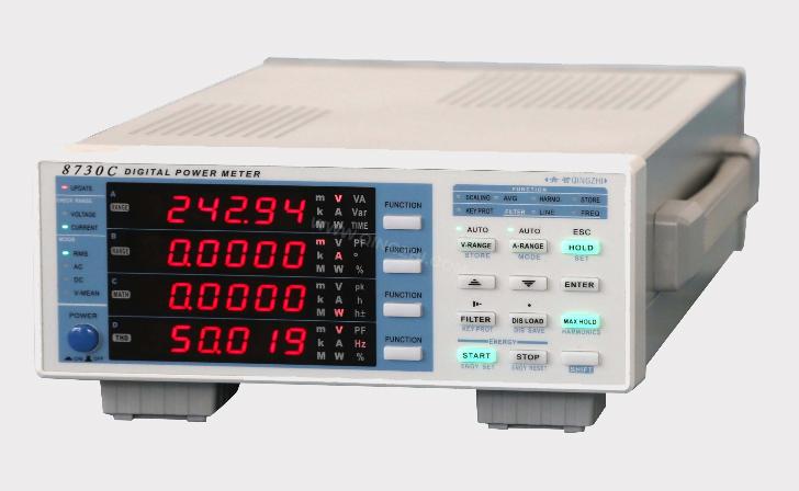 8730C柴油发电机组中高频电参数测量仪