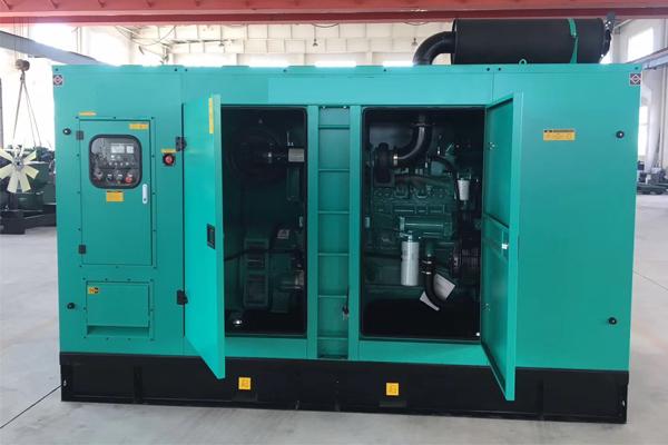 河南省地质矿产勘查开发局200KW静音发电机组项目