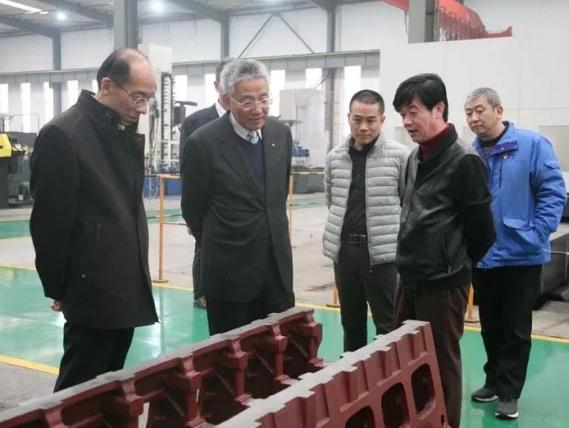 日本大发柴油机(上海)有限公司到河柴重工参观交流