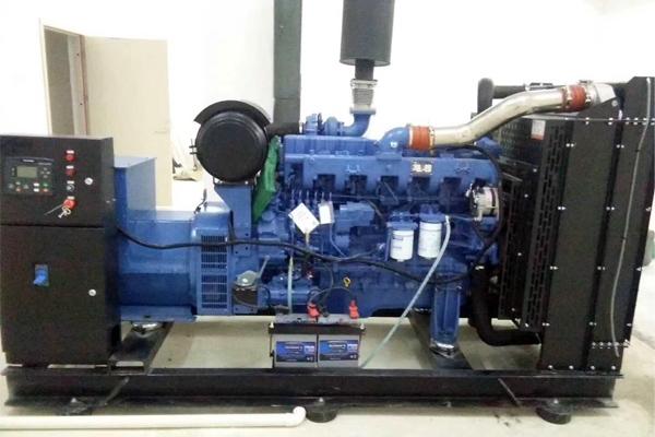 海南省三亚技师学院200KW玉柴发电机组项目