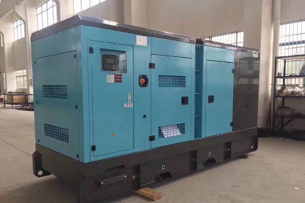 南昌民防工程300KW静音柴油发电机组项目应用