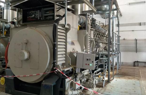 阿尔及利亚排水工程2800KW柴油发电机组应用