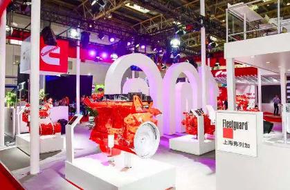 康明斯全系列非道路国四动力亮相北京工程机械展