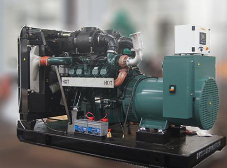 宁夏水利水电工程300KW上柴发电机组交付使用
