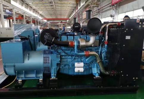 齐鲁交通发展公司900KW济柴发电机组成功交付使用