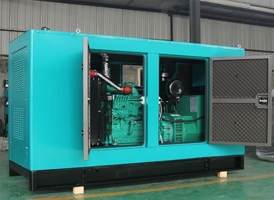 内蒙古富源集团400KW静音康明斯发电机组交付使用