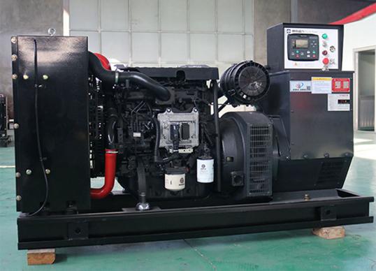 赤峰市东赫城市建设50KW潍柴发电机组成功交付