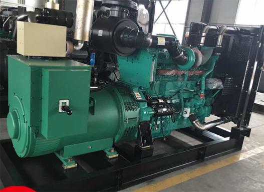 中铁十四局房建公司200KW进口沃尔沃柴发电机组交付