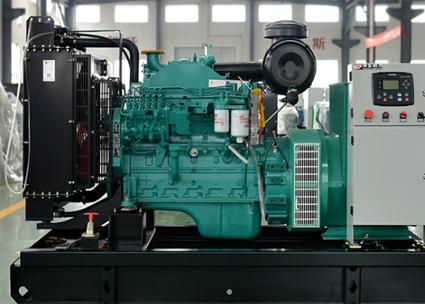 中国十九冶集团50KW东风康明斯柴发电机组交付使用