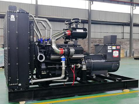 中国水电基础400KW上柴柴发电机组成功交付