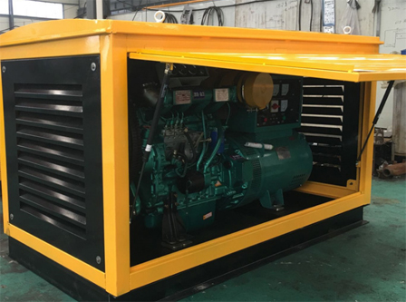 云南建设基础设施150KW潍柴柴柴发电机组交付使用
