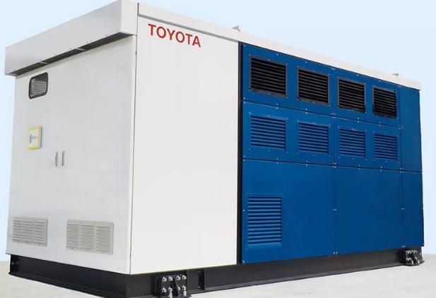 丰田采用Mirai燃料电池系统打造发电机为工厂供电