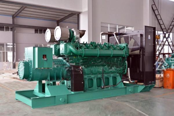 上海新海丰集装箱1200KW玉柴发电机组交付使用
