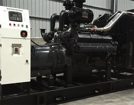 山西福马炭材料650KW上柴发电机组成功交付