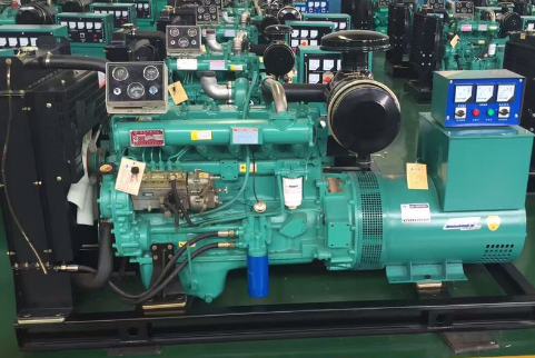 甘肃窑街煤电集团80KW潍柴发电机组成功出厂