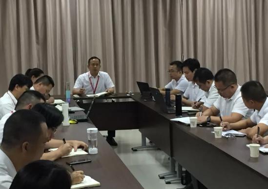 玉柴物流集团召开9月经营分析会议