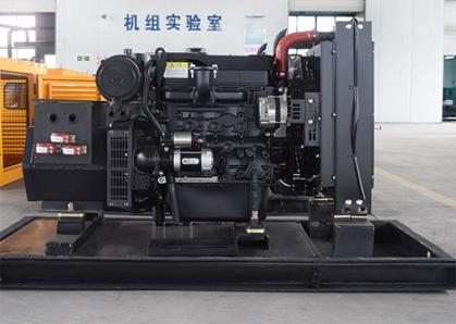 北京房建建筑120KW上柴股份发电机组成功交付