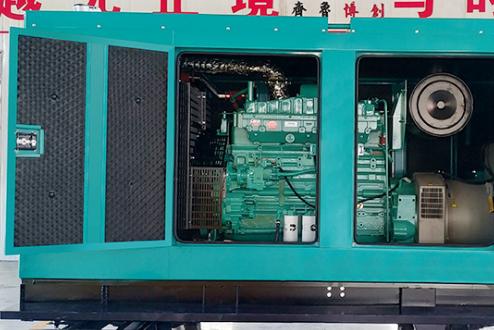 国网湖南省电力350KW康明斯发电机组交付使用