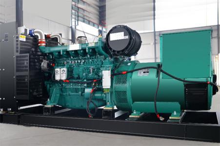 中国化学工程第七建设450KW玉柴股份发电机组交付