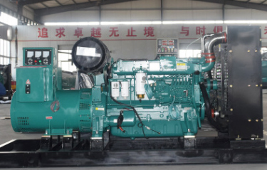 中国华能集团300KW玉柴股份发电机组交付使用