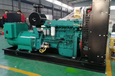 中海油销售山西250KW玉柴股份发电机组交付使用