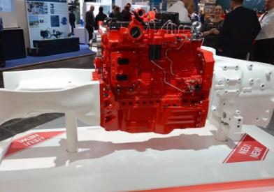 康明斯新型结构发动机,亮相Agritechnica国际农机展