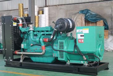 上海电力安装200KW康明斯发电机组成功交付